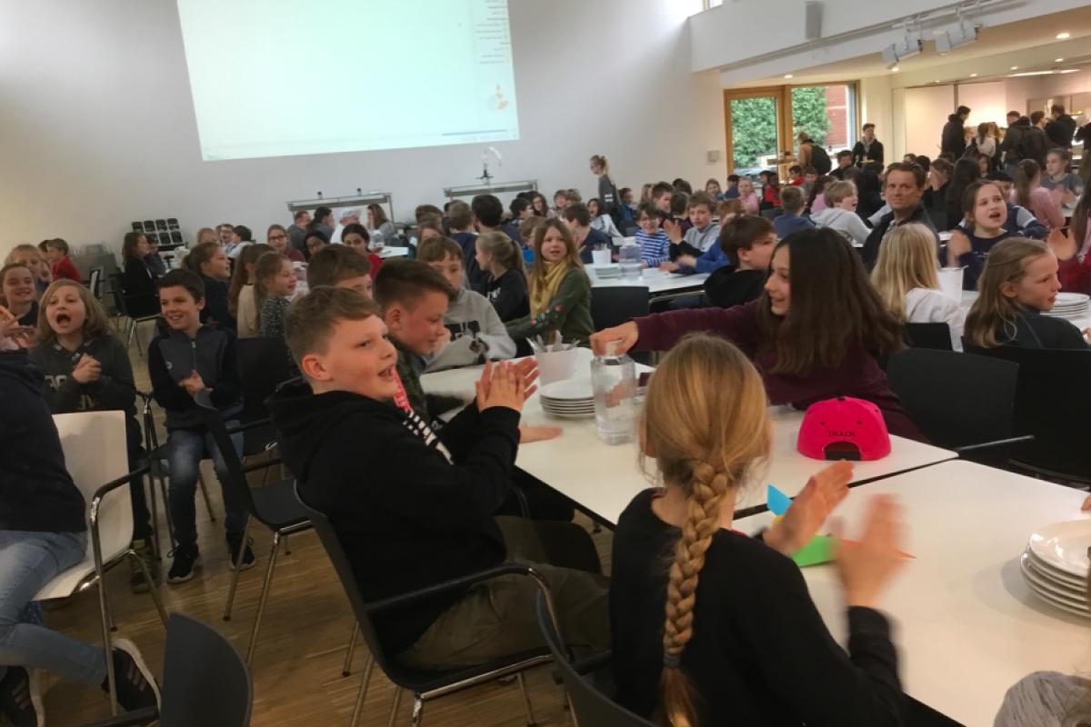 Das Assembly der Gesamtschule Münster Mitte